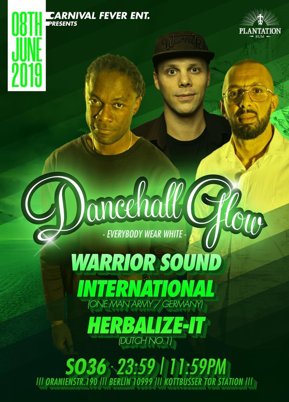 Tickets - Dancehall Glow in Berlin, 2019-06-08 - CARNIVAL FEVER